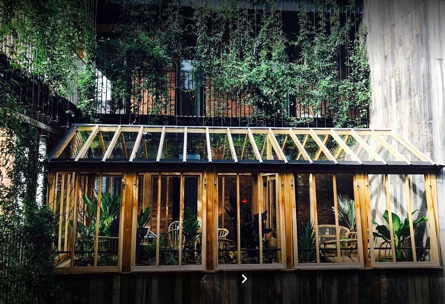 Mandrake Hotel outside space design project