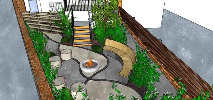Landscape design process stage 2